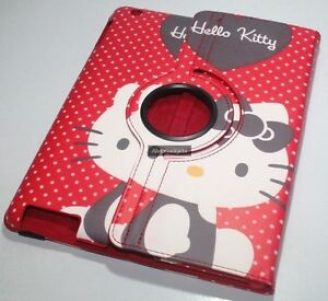 Hello-Kitty-360-Rotate-Smart-Cover-Leather-Case-For-Apple-iPad-2-New-iPad-3-4