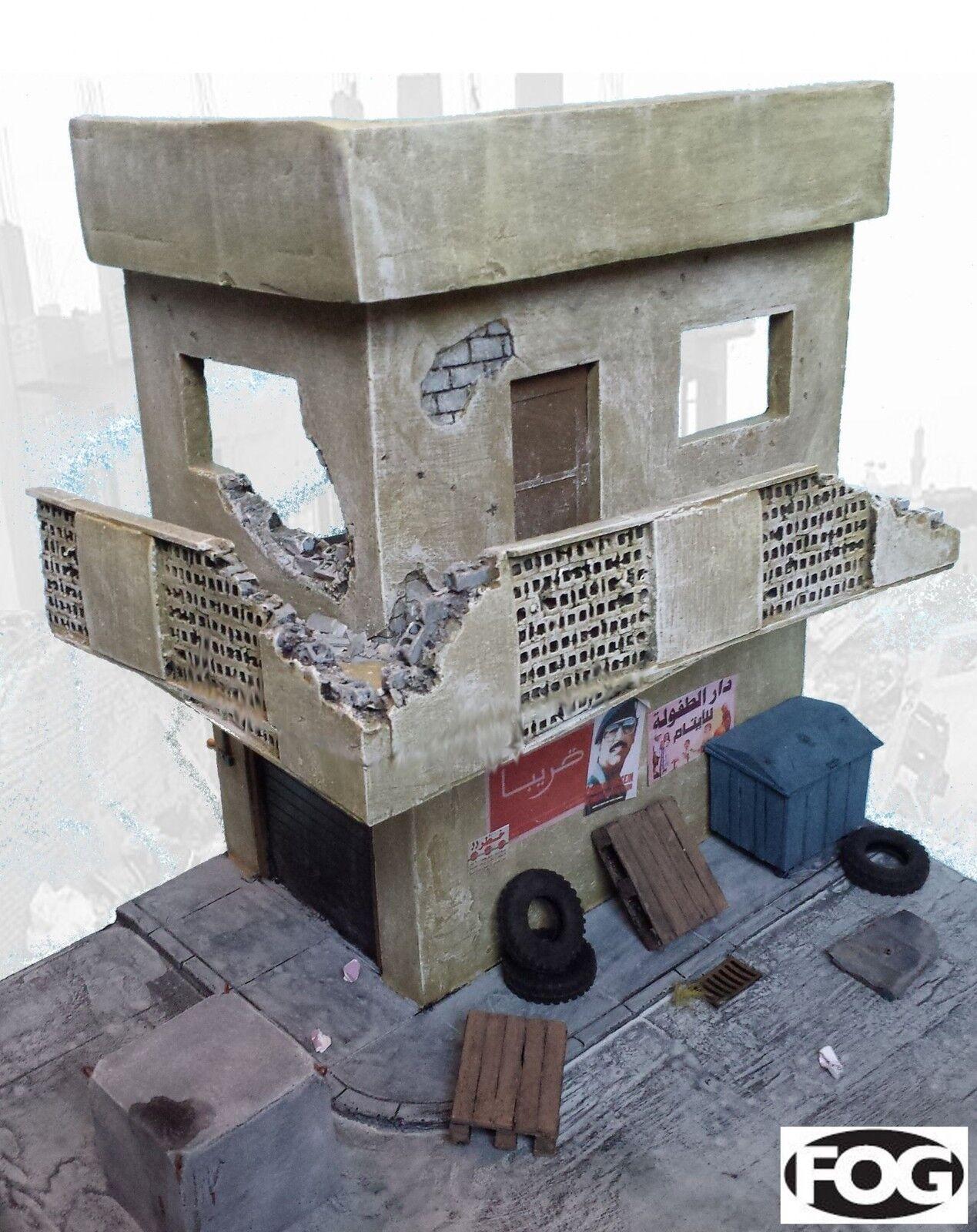 1 35 Scale  - 'Battle for Basra' Ceramic Diorama kit - Large display base