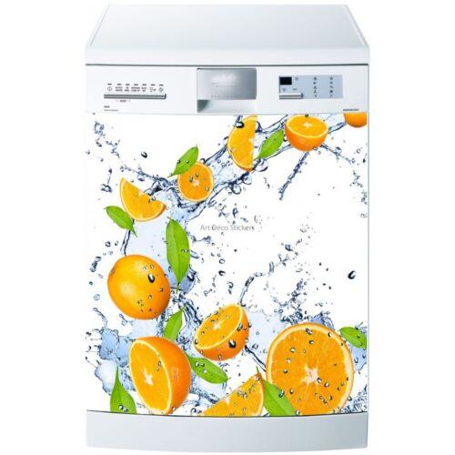 Magnet lave vaisselle Oranges 60x60cm réf 533 533