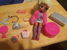 LOL Surprise OMG Lady Diva Fashion Doll With 20 Surprises In Hand AUTHENTIC