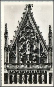 REIMS-Carte-France-1950-60-CPA-Cathedrale-Kirche-Dom-Frankreich-AK
