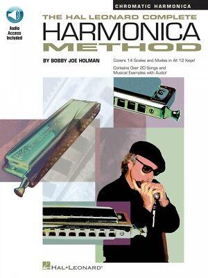 Wind & Woodwinds The Hal Leonard Complete Harmonica Method Chromatic Harmonica New 000841286 Luxuriant In Design