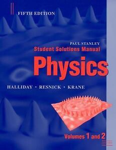 physics by david halliday kenneth s krane and robert resnick 2001 rh ebay com modern physics krane 3rd edition solutions manual pdf free Solution Science