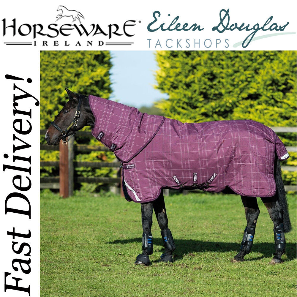 Horseware Rhino Plus Turnout Rug Heavy 450g Vari-Layer Rugs