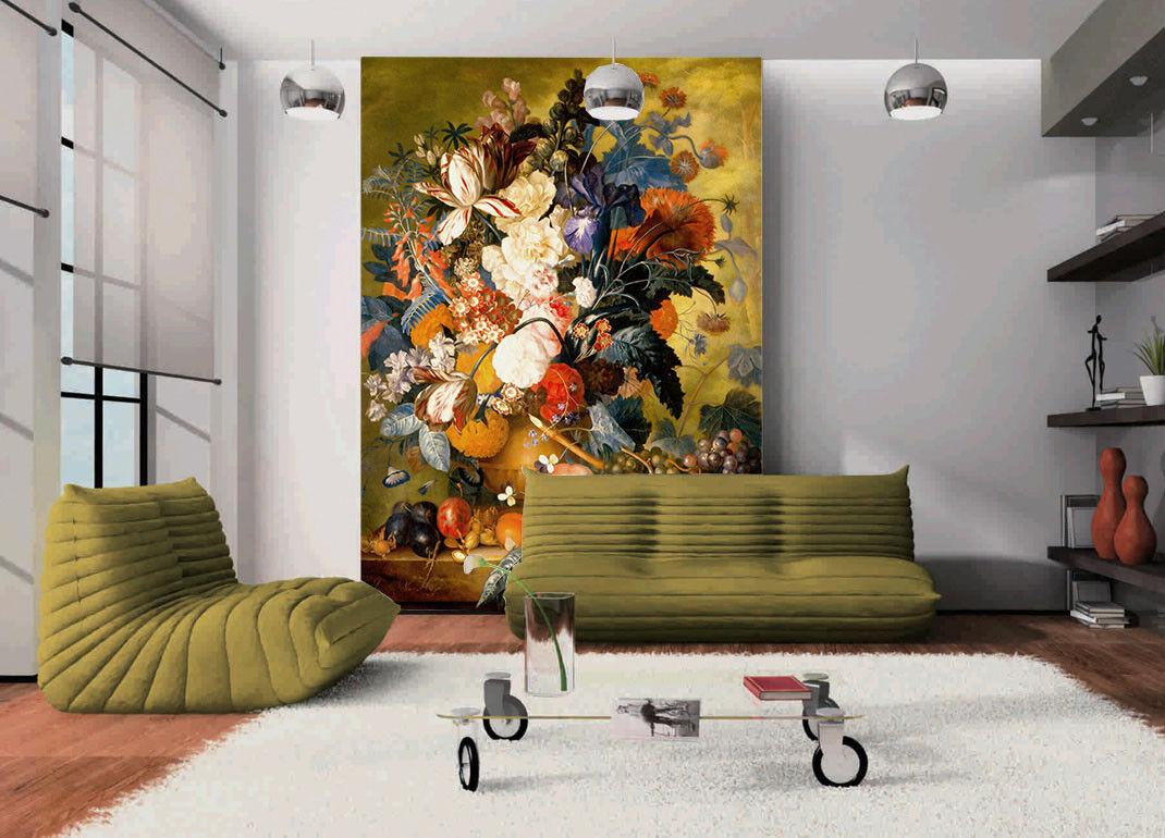 3D Flower Paint 442 Wallpaper Murals Wall Print Wall Mural AJ WALLPAPER UK Jenny