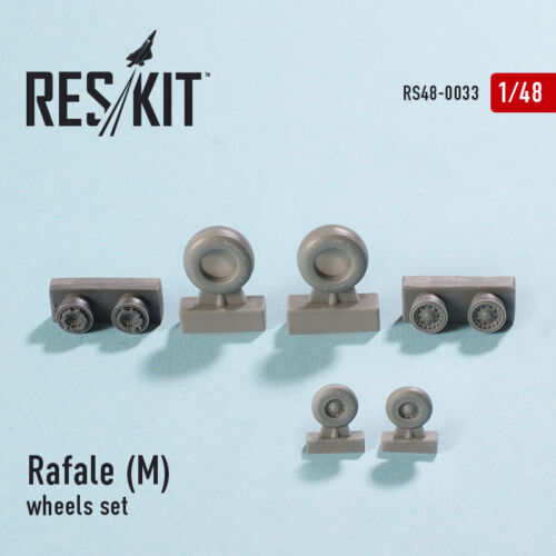 Reskit - 48-0033 - Rafale M (wheels set) - 1:48