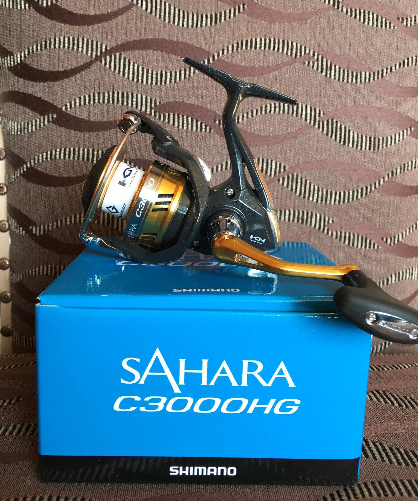 Shimano Sahara c3000hg fi spinnrolle