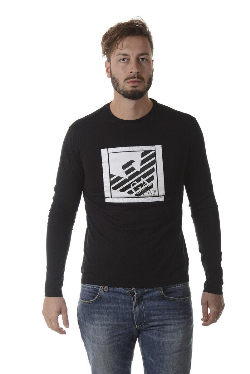Emporio Armani EA7 camiseta Sudadera Hombre  Negro 6YPT99PJ30Z 1200 Talla. XL poner Oferta  grandes ahorros