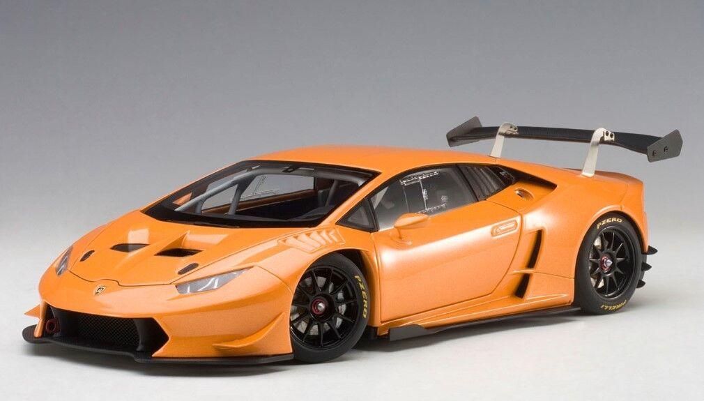 81558 Autoart 1 18 LAMBORGHINI HURACAN LP620-2 Super Trofeo 2015 (Pearl Orange)