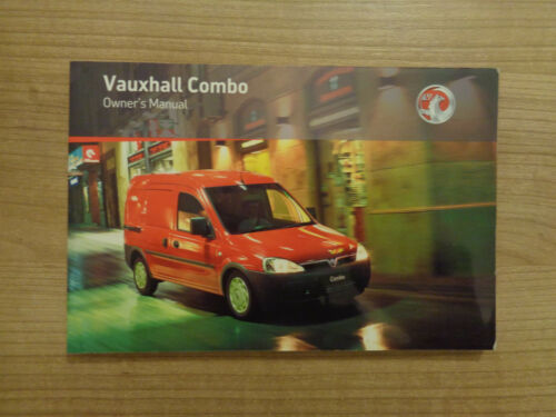 VAUXHALL COMBO Proprietari Manuale//MANUALE 06-12