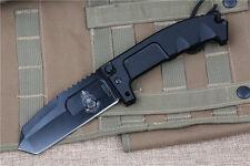 B000036ER 6MM Blade AxisLock Large Folding Hunting Bowie Defense Gear Knife ER01