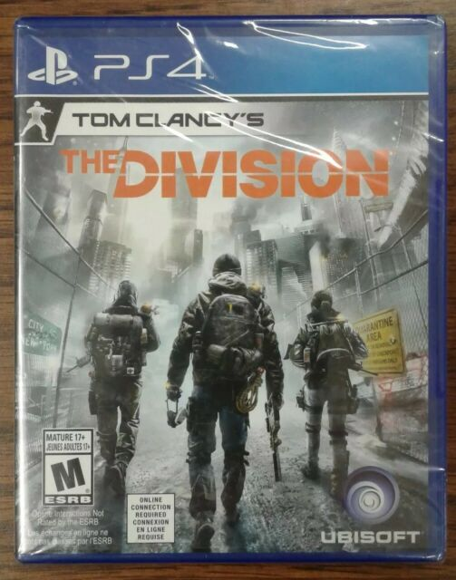Tom Clancy's The Division (Sony PlayStation 4, 2016) Y-fold Sealed