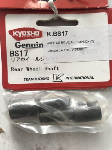 Kyosho BS17 Rear Wheel Shaft Burns Turbo Burns NIP BS-17