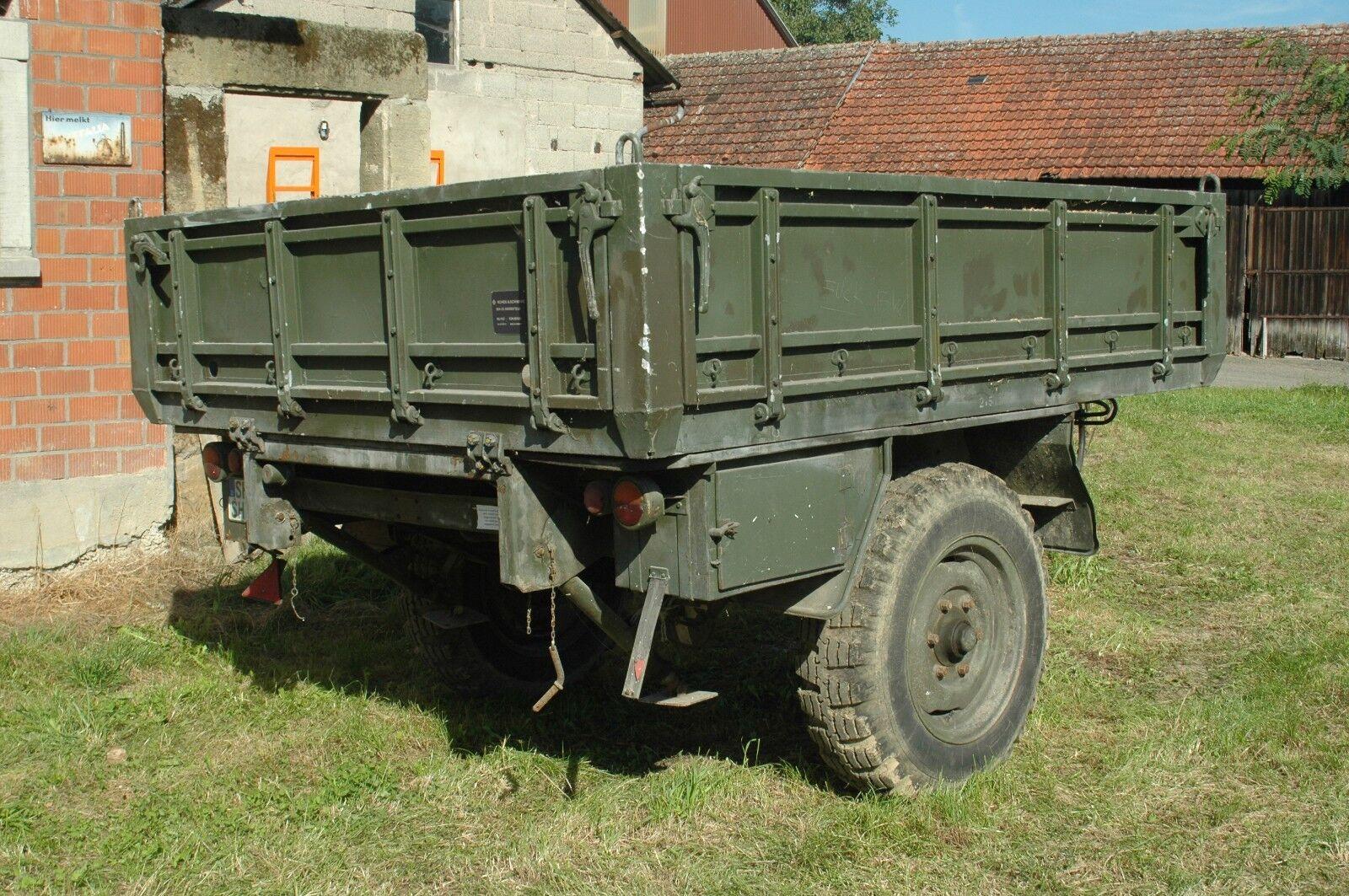 Bundeswehranhänger Einachser 1,5 Tonner BWB-2327