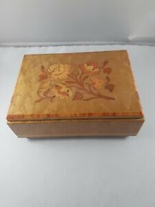 Vintage musical box hand made in Italy , James Dean, limited , collector Item!
