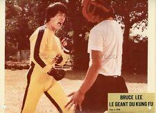 BRUCE LEE  LE GEANT DU KUNG FU  1978  VINTAGE LOBBY CARD