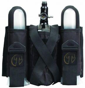 New-Tippmann-2-1-Paintball-Pod-Harness-Pack-w-Tank-Holder-Black
