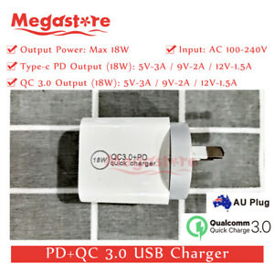 QC-3-0-PD-3-0-USB-C-Type-C-Adapter-Wall-Charger-Fast-Charging-For-Apple-Iphone