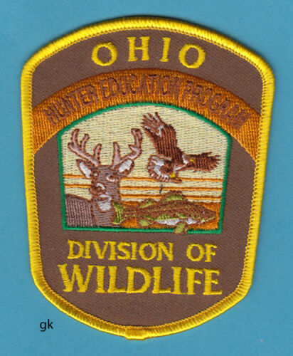 OHIO HUNTER EDUCATION PROGRAM  DIVISION OF WILDLIFE   SHOULDER PATCH
