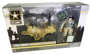 U-S-Army-Assault-4-Wheeler-SOLDIER-Action-Figure-Figurines-NEUF