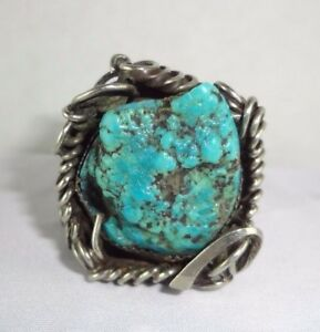 Sterling-Silver-Large-Turquoise-Ring