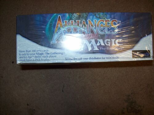 Magic The Gathering 1996 Alliances Booster Box Factory Sealed FREE SHIPING
