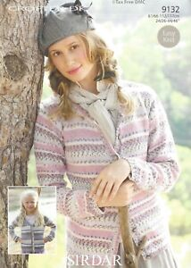 991f613e0c12e VAT Free Knitting PATTERN ONLY To Make Sirdar Easy Knit Cardigans ...