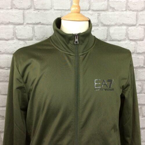 Ea7 Mens Top Designer Khaki Core S Emporio Volledige Casual Armani Uk Poly Track Zip rrqwFfWgA