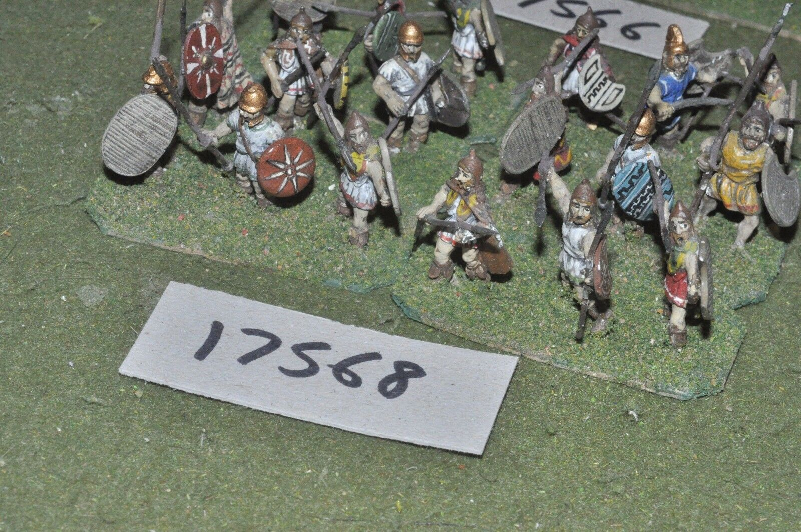 25mm classical   thracian - warriors 18 figs - inf (17568)