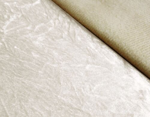 Mn125a Beige Crushed Velvet Style Cushion Cover//Pillow Case *Custom Size*
