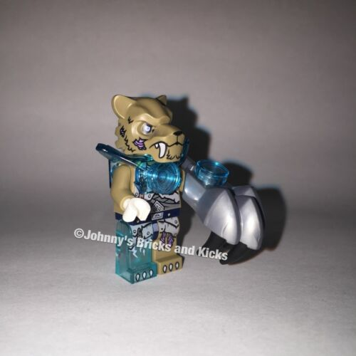Lego 70145 Chima STRAINOR Minifigure BRAND NEW from Maula's Ice Mammoth Stomper