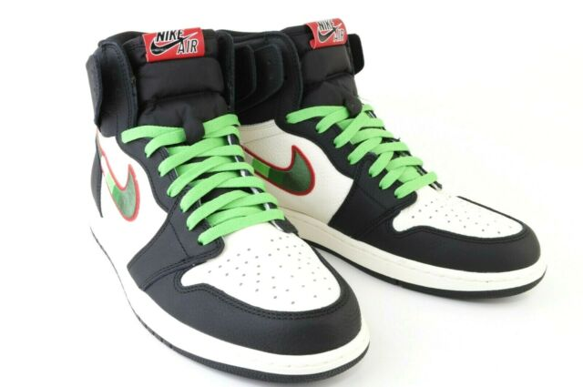 huge selection of 2fd30 d5d8c Nike Air Jordan 1 Retro High OG SPORTS ILLUSTRATED BLACK 555088-015 MENS  SIZE 13