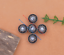 10X-Silver-Tone-Flower-Leather-Craft-Bag-Belt-Purse-Decor-Turquoise-Conchos-Set miniature 20