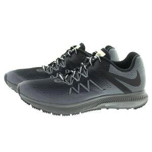 d3a4baf43540 Nike 852441 001 Mens Air Zoom Winflo 3 Water Resistant Running Shoes ...