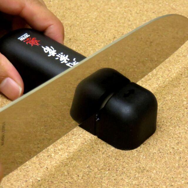 Japanese Kitchen Knife Pull-Through Sharpener Ceramic Sharpening Stone JAPAN