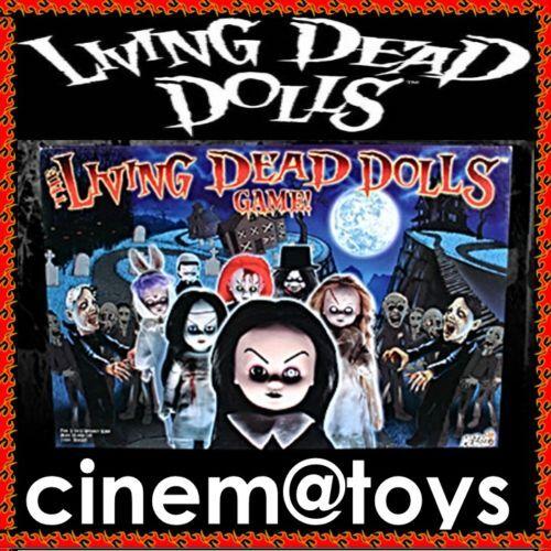 LIVING DEAD DOLLS GIOCO DA TAVOLO In Inglese RARO 2003 MEZCO TOYS LDD