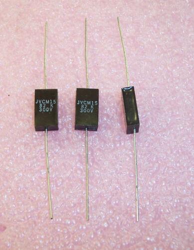 QTY 20 82pf 300V 10/% AXIAL MICA CAPACITORS RJG361 32//82 JV ELECTRONICS