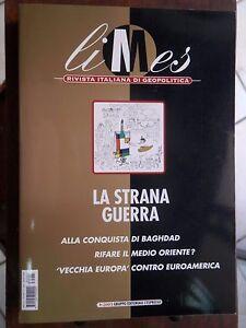 LIMES-N-1-2003-LA-STRANA-GUERRA-Alla-conquista-di-Baghdad-Medio-Oriente-Europa