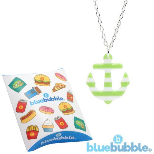 Bluebubble Sailor Jerry Ancla Collar Náutica Kitsch Funky Boho Chic 80s 90s