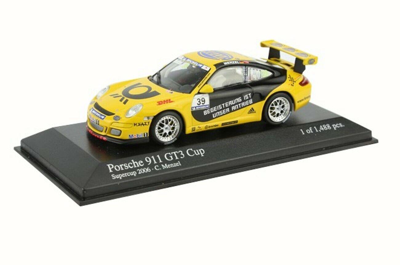 PORSCHE 911 GT3 CUP TOLIMIT MOTORSPORT SUPERCUP MINICHAMPS 400066439 1 43