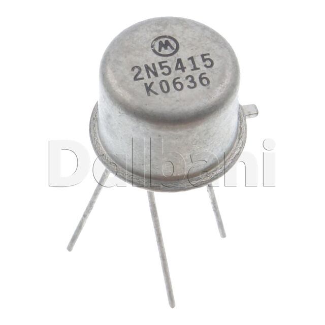 2N5415 Transistor pnp 200V 1,0A 1,0W TO39