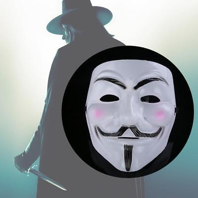 Anonymous V Para Vendetta Guy Fawkes Disfraz De Halloween Máscara Vendedor Gb Ebay