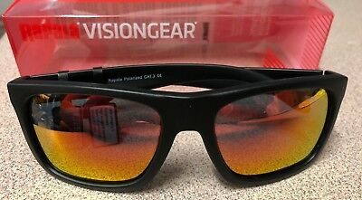 Rapala Sunglasses VisionGear Polarised UV RVG-300B Red Lens