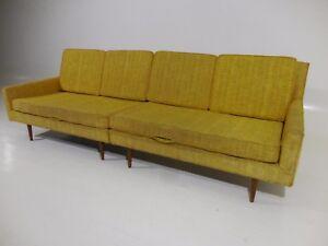 Rare 60 S Vintage Paul Mccobb Widdicomb 2pc Sectional Sofa Mid Century Modern Ebay