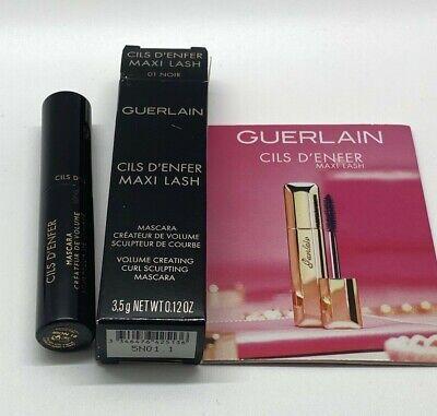 Guerlain Cils D Enfer Maxi Lash Mascara 01 Noir Sample 0 12oz 3 5g Bnib 3346476425136 Ebay