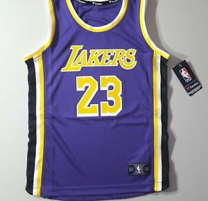 3922fccfd46 Image is loading L-A-Lakers-LeBron-James-Fanatics-039-STATEMENT-EDITION-