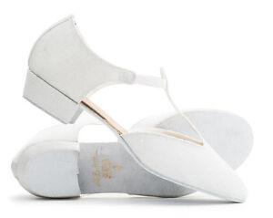 Ladies White Sparkly Glitter Dance
