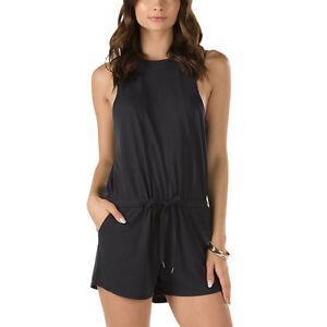 28cb6ff624 Vans Women s L Skater Skirt Jumper BELLA Romper Dress GRAY Black ...
