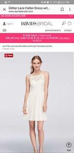 1931c24fa617 Image is loading davids-bridal-little-white-dress