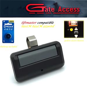 Chamberlain 950ESTD COMP 891LM Garage Door Opener Mini Remote Security 2.0 MyQ